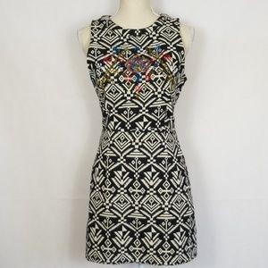 ASTR Aztec Tribal print cotton dress Size M